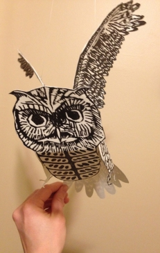 Screech Owl Elemental 507x800